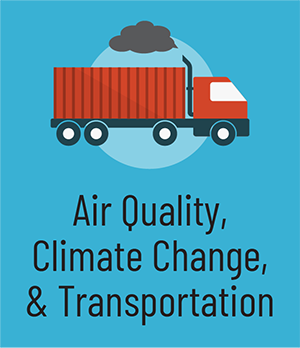 Air Quality Climate Change and Transportation